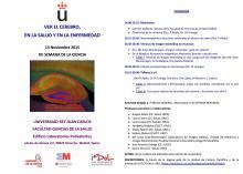 Programa XV Semana de la Ciencia URJC
